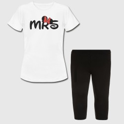 Ensemble fille - MRS minnie - Tshirt + legging court