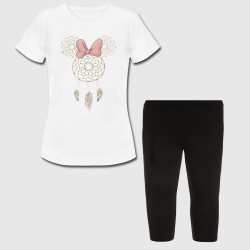 Ensemble fille - Minnie Dream Catcher - Tshirt + legging court