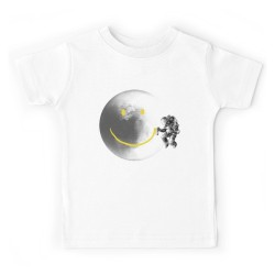 T-shirt garçon - MOON SMILEY