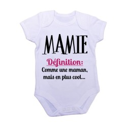 Body mixte - MAMIE DEFINITION