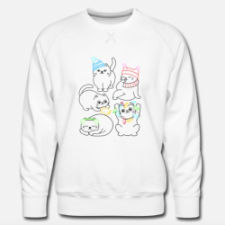 Sweat-Shirt adultes et enfants - Chats