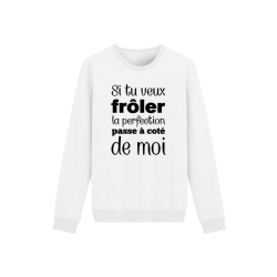 Sweat-Shirt adultes et enfants - Imprimé humour